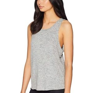 Free People Coziest Tank Top Size Medium Gray